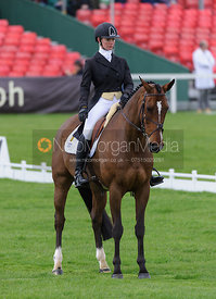 Lauren Shannon and ZERO FLIGHT - Dressage - Mitsubishi Motors Badminton Horse Trials 2013.