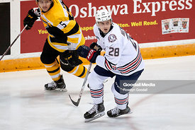 Oshawa Generals vs Kingston Frontenacs on November 5, 2017