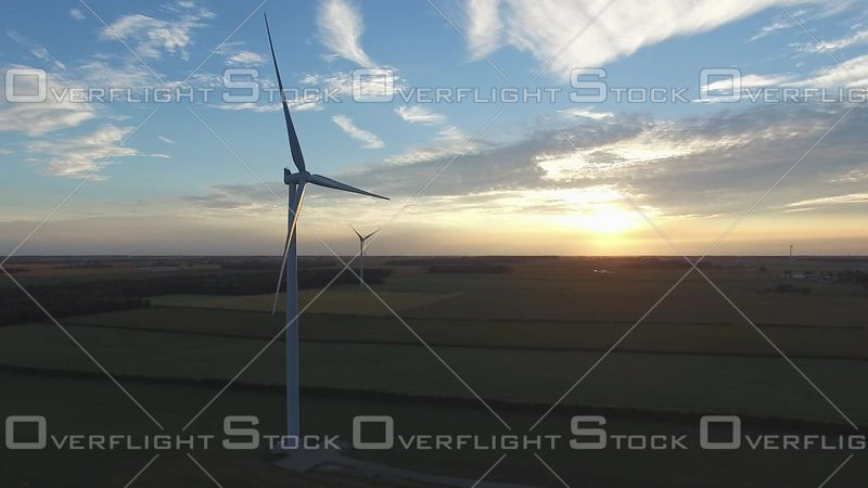 Wind Farm Electrical Generators Ontario Canada