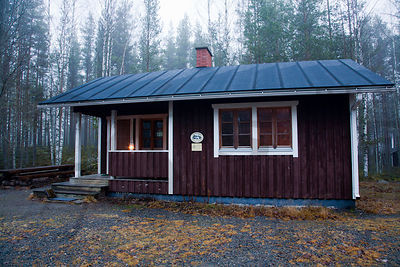Sysilampi Cabin´s other end is open and other end can be reserved