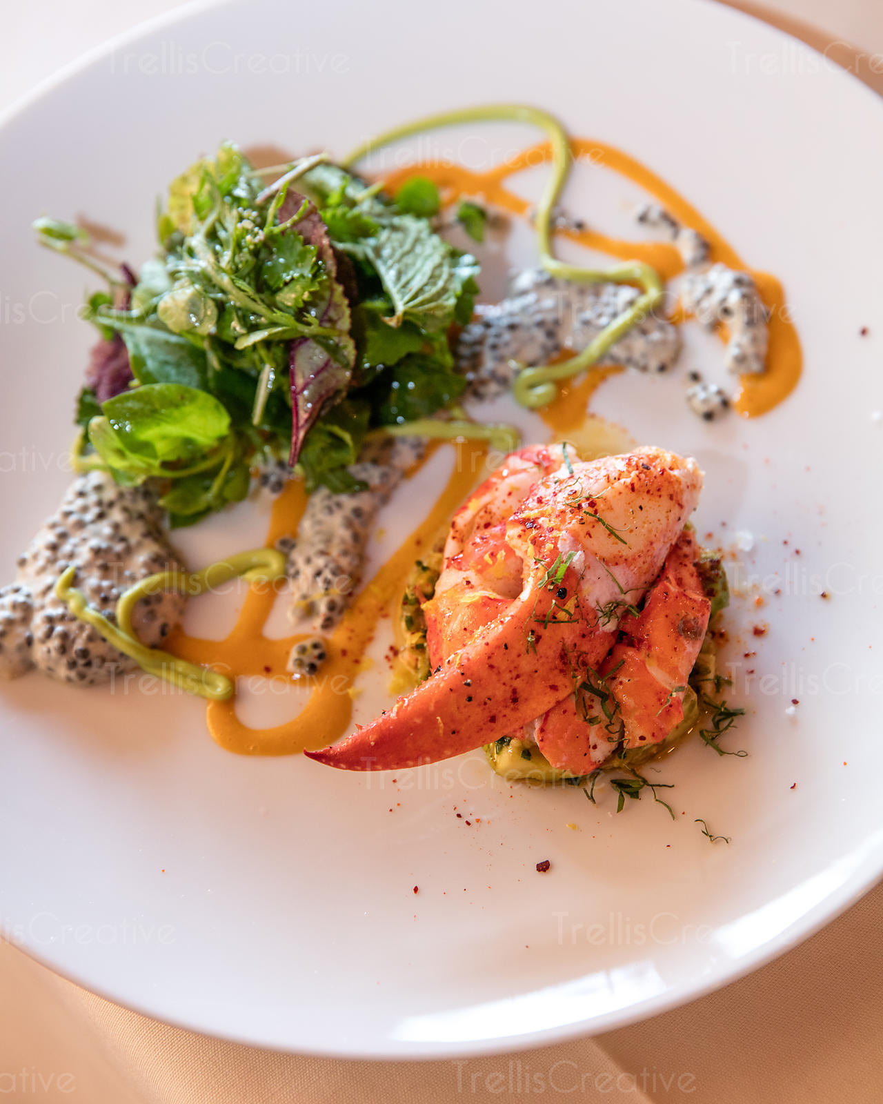 Images of Gourmet Lobster Appetizers - #rock-cafe