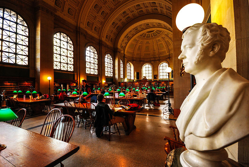 Boston Public Library, Boston
