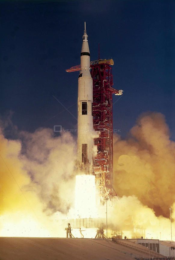 The Apollo 8 crew launches on the first manned mission to the moon. On December 29, 1968