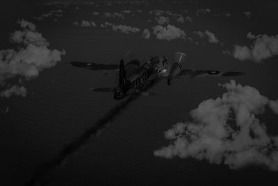 Above and beyond: Jimmy Ward VC black and white version