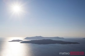 View of the caldera, Santorini, Greece