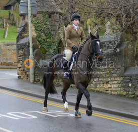 The Cottesmore Hunt in Uppingham