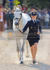Vittoria Panizzon and BOROUGH PENNYZ - Mitsubishi Motors Badminton Horse Trials 2013