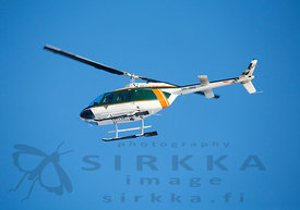 Helicopter of the Finnish Border Guard
