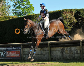 Jess Milson and Billy The Cuff, Brigstock International Horse Trials 2010.