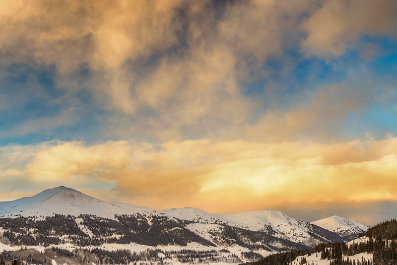 Jacque's Peak Winter Sunset