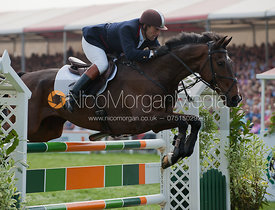 James Robinson and  Comanche - Show Jumping
