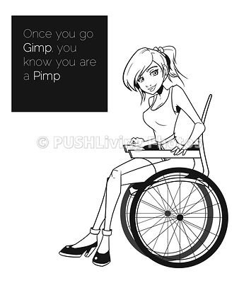 Once you go Gimp you know you are a Pimp