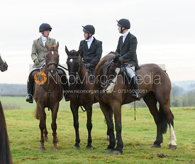 at the meet - The Cottesmore at Bleak House 17/1