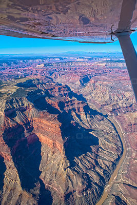 Aerial view of the Grand Canyon, Arizona, USA