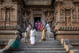 Inde, Tamil Nadu, Tanjore (Thanjavur), Temple Brihadishvara, classé Patrimoine Mondial de l'UNESCO // India, Tamil Nadu, Tanjore (Thanjavur), Brihadishvara Temple, listed as World Heritage by UNESCO
