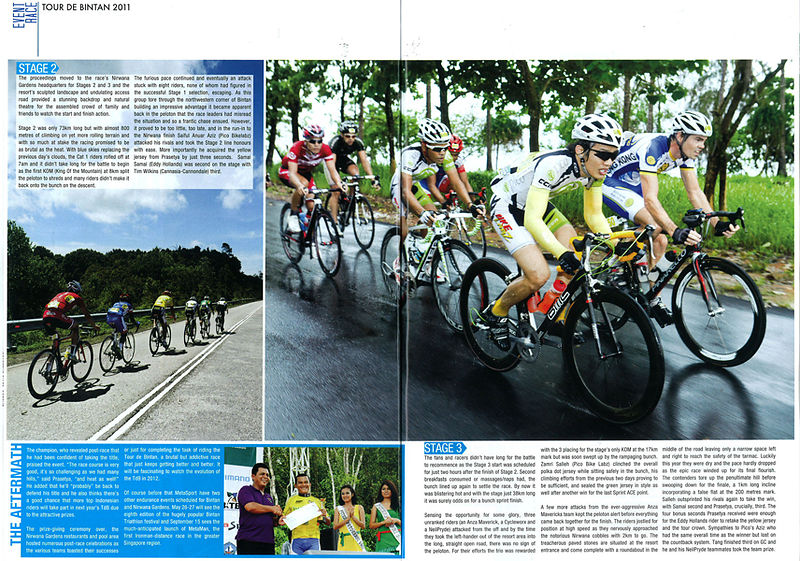 Spin Asia Magazine Tour Of Bintan - 2011