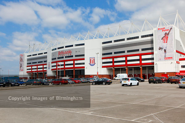 The Britannia Stadium, home of Stoke City Football Club.  Stoke.