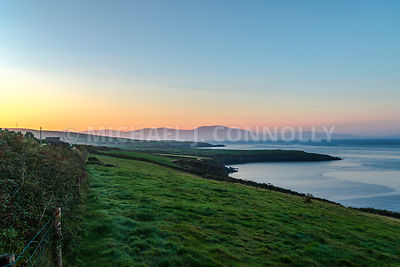 Sunrise Over Dingle Bay- Near Ventry, Ireland