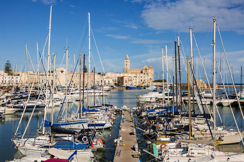 The Yacht Marina at Trani