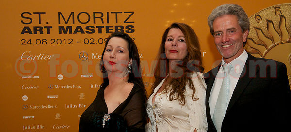 SAM St.Moritz Art Masters 2012 SAM Foundation Charity Night