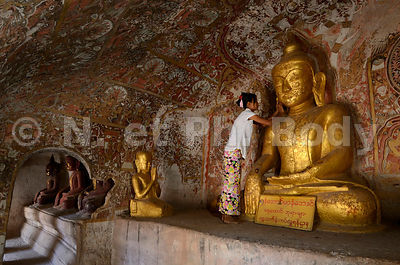 Po Win Daung Caves - Monywa pictures