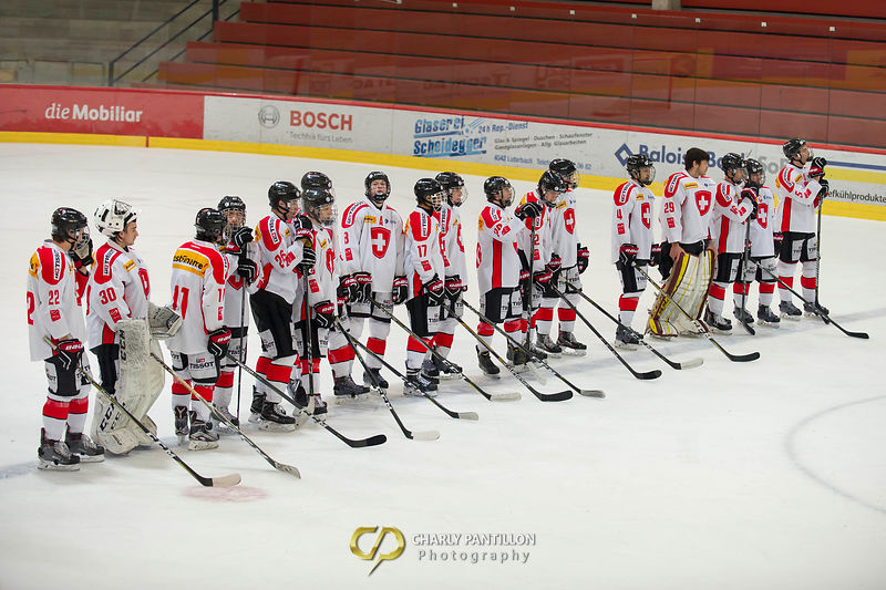 U18 Team Switzerland - Czech republic photos