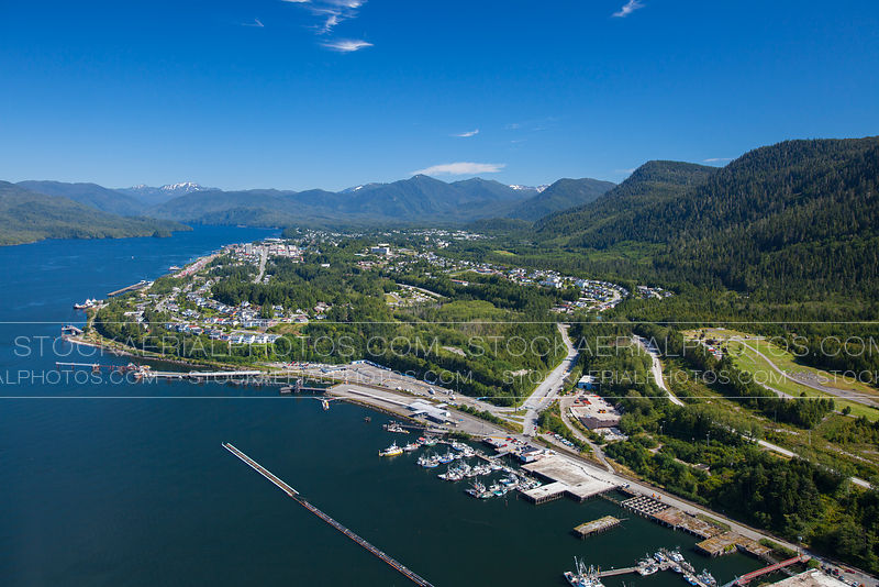 Prince Rupert Aerial Photo