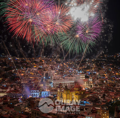 New Year's Eve in Guanajuato, Mexico