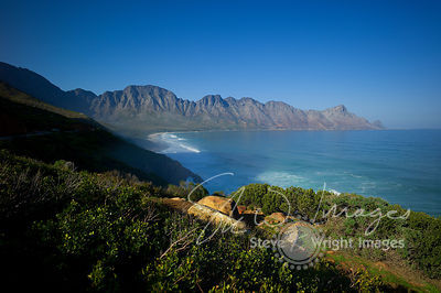 The Kogelberg Mountains and False Bay - Western Cape, South Africa