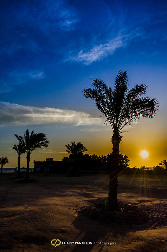 Sunrise on the Red Sea / Hurghada - Egypt