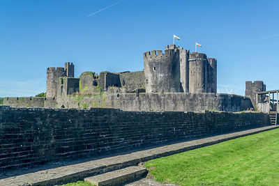Caerphilly Castle- Caerphilly, Wales