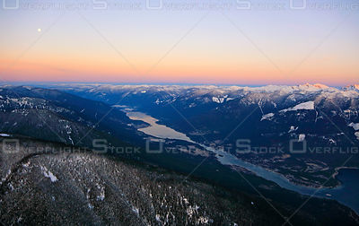 Sunrise on Kootenay Lake BC