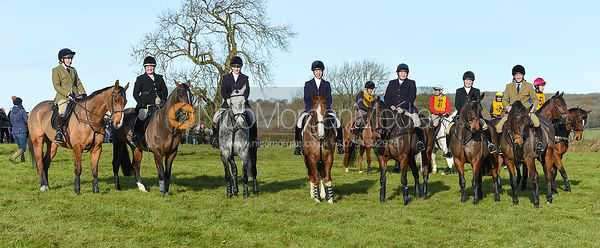 Emily-Rose Perez-Fragero, Caroline Harrison, Helen Lovegrove, Ursula Moore, Charlotte Wright, Tom Jonason - The Melton Hunt Club Ride