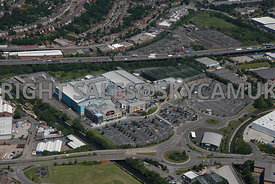 Birmingham aerial photograph of the Star City entertainment centre Watson Road
