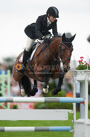 Sarah Bullimore and My Last Time - show jumping phase,  Land Rover Burghley Horse Trials, 2nd September 2012.