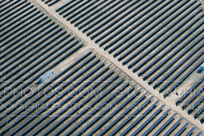 Large Solar Panel Array