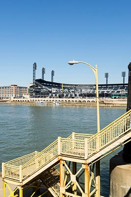 PNC Park From Clemente Bridge Steps.