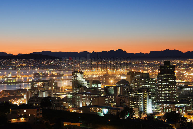 Cape Town Skyline at Dawn