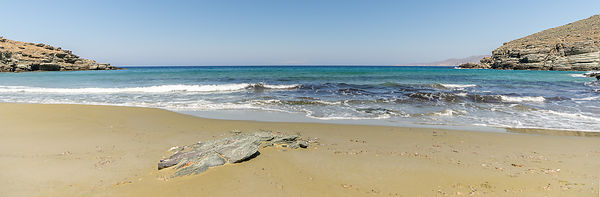 Landscape | Canvas wall art | Greece | Beach panorama