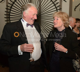 Foster Edwards, Lady Sarah Mccorquodale - The BHSC Cocktail Party at Belvoir Castle, 11th March 2017