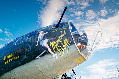 Memphis Belle- Right Side Nose Art