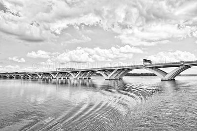 Woodrow Wilson Bridge 3,(B&W)- Washington, DC