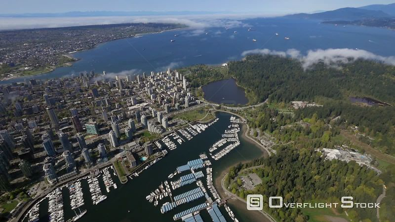 Stanley Park Lost Lagoon and English Bay Vancouver