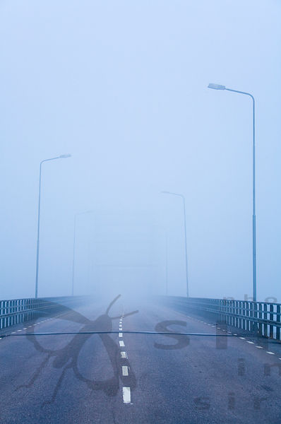 Border Bridge Between Finland and Sweden