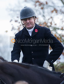 The Earl of Verulam - The Quorn Hunt at John O' Gaunt 9/11/12