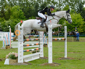 Caroline Powell and SINATRA FRANK BABY - Rockingham Castle International Horse Trials 2016
