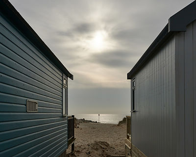 The Beach huts on Mudeford Spit near Hengistbury Head in Dorset are famed for their expense. They offer rich pickings in terms of pictures with weathered textures and beach paraphernalia left lying around.