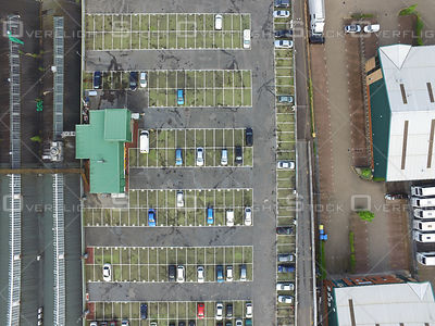 Parking Lot Crawley England UK