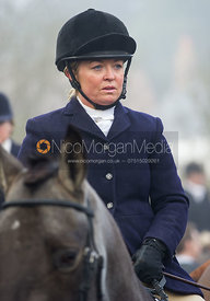 Sasha deG at the meet - The Cottesmore Hunt at the Blue Ball 11/12