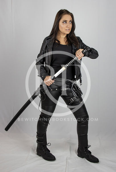 Caitlyn: Urban Fantasy (Katana) photos